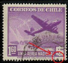 Chile 1946 #391 Avion y Torre de Radio (A-489)