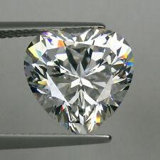 5 pezzi di cuore 5mm-FACET pure ICE-WHITE ZIRCONI PIETRE PREZIOSE £ 1 NR!