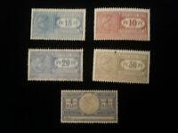Deutsches Reich ab ca. 1914 - Frachtstempel Marken Lot von 15 Pf bis 4 Mark