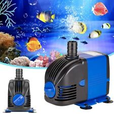 Aquarium Submersible Water Pump Power head Hydroponic Fountain Pond Adjustable