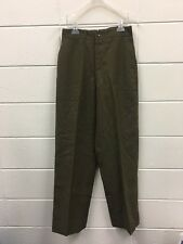 VINTAGE Bulag Munchen German Military Wool Field Trousers 1951 30x33