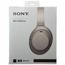 Sony Casque Arceau sans Fil à Réduction de Bruit - Argent (WH-1000XM3)