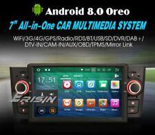 "AUTORADIO 7"" Android 8.0 Octa Core 4Gb 32Gb Fiat Grande Punto Navigatore Gps Usb"