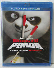 Kung Fu Panda Ultimate Edition of Awesomeness Blu-Ray DVD 3-disc NEW! no digital