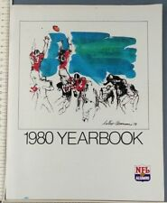 1980 NFL Alumni Yearbook Magazine Program Kemp Jurgensen Brown Stram Pardee