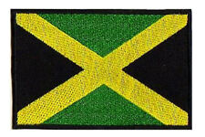 Patch écusson patche thermocollant Jamaique Jamaica drapeau flag 85x55mm