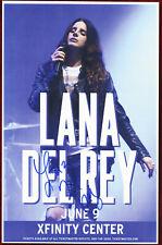 Lana Del Rey autographed concert poster 2015