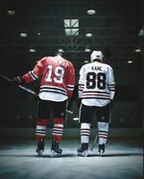 NHL Hockey Jonathan Toews and Patrick Kane Chicago Blackhawks Photo Print