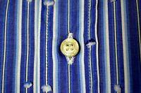 original ETRO MILANO edles COUTURE Hemd shirt chemise S 37 38 neu 235€ NEW blau