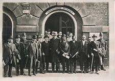 LONDRES c. 1930 - Délégués Indous Réunion de la Table Ronde Policemans - PRM 398