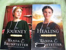 Wanda Brunstetter Lot Of 2 Christian Amish Book Kentucky Brothers