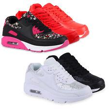 Damen Glitzer Sportschuhe Bequeme Laufschuhe Profil Sohle 811311 Schuhe