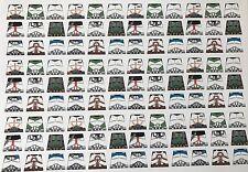 Personalizado 108 Pegatinas soldados uniforme de Star Wars Clone Trooper-Tamaño-Lego Torso