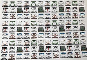 Custom 108 stickers soldiers STAR WARS CLONE TROOPER UNIFORM - SIZE - lego torso