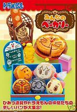 New Japan Re-ment Miniature Doraemon Minna Bakery Bread and Cake Full Set of 8