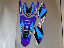 ONE IND. TRIM GRAPHICS YAMAHA YZ250F 2010 2011 2012 2013  FENDERS  FORK GUARDS