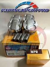 NPR 81MM HIGH COMPRESSION PISTONS & RINGS ACURA INTEGRA TYPE R CIVIC SI B16 B18