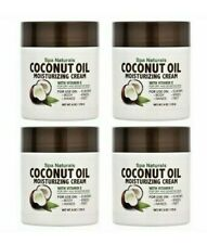 Coconut Oil Moisturizing Cream Vitamin E For Dry Sensitive Skin Body Face 4x 6oz