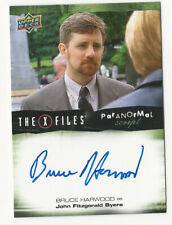 Bruce Harwood The X Files Ufos & Aliens Paranormal Script Autograph Card Auto