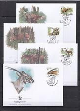 Vietnam 2000 - FDC - Dieren / Animals / Tiere  (WWF / WNF)