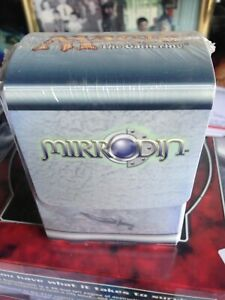 Mirrodin Deck Box with sleeves FACTORY SEALED RARE