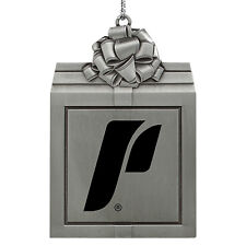 The University of Portland-Pewter Christmas Holiday Ornament-Silver
