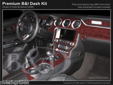 CARBON FIBER DASH KIT FOR FORD MUSTANG 2015-2017 WITH 4 VENTS IN DASH