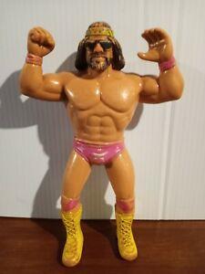 LJN WWF Macho Man Randy Savage Rubber Wrestling Titan Sports VTG WWE