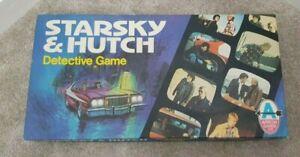 STARSKY AND HUTCH Vintage Detective Board Game COMPLETE MB 1977
