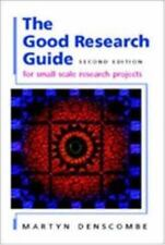 The Good Research Guide by Denscombe, Martyn