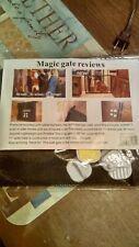"""Nip Magic gate 28""""tall expands to 71"""" no nails, no tools, no damage"""
