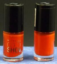 Maybelline Color Show Nail Lacquer   # 220  Orange Fix