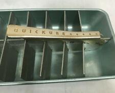 Vintage Metal Ice Trays Quickube