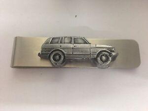 Range Rover 4 Door 3D Pewter Effect emblem ref197 stainless steel money clip