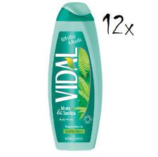 12x Vidal white musk weißes Moos Schaumbäder Bades bath shower foam 500ml