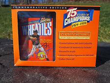 Cal Ripken Jr Baltimore Orioles 75 Years Of Champions Wheaties Mini Box