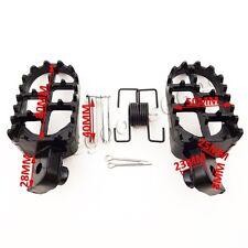 Aluminium Footrest FootPegs For Honda XR50R CRF50 CRF70 CRF80 CRF100F Dirt Bike