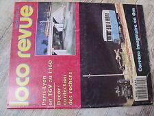 $$h Loco-Revue N°498 Paris-Lyon TGV  rochers  Corrèze  His-mane-Touille  Y 6200