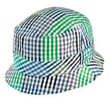 NEW ERA EK - Men's Gingham Fresh Green Bucket Hat - SMALL