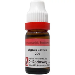 Dr Reckeweg Made in Germany Homeopathic Agnus Cast 200CH 11ml Free Shipping