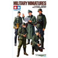 Tamiya 35298 German Field Commander Set 1/35