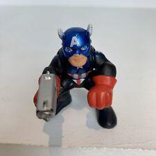 Marvel Super Hero Squad Adventures Captain America Gun Action Figure Imaginext
