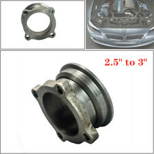 "Stainless Steel 2.5"" to 3""  Turbo Downpipe 4 Bolt Exhaust Flange Universal Fit"