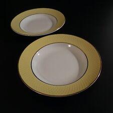 2 assiettes porcelaine art déco Moulin des Loups Orchies Nord France N4629