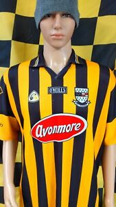 Vintage Kilkenny GAA Official O'Neills Hurling Jersey Shirt (Adult XXL)