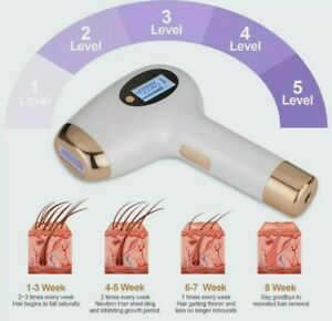 Laser IPL Hair Removal DIY Pulse Painless for Face & Full Body FAST SHIPPING!