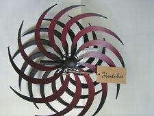 Spirale in dissolvenza metallo Ø 32,5 cm, gioco di Vento, doppio provvisoriamente, Mulino, Giardino, Decorazione