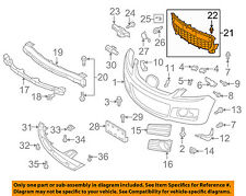 MAZDA OEM 07-09 CX-7-Grille-Lower EG21501T1C