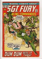 SGT FURY #96 (1972-03) MARVEL Nick Fury and his Howling Commandos WWII