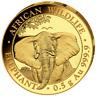 Elefant Elephant 2021 0,5 Gramm Gold Or Somalia Somalie